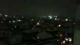 雪夜の町1