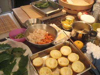 2009ケイコズキッチン準備