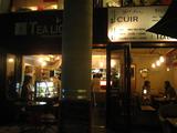 福岡市薬院カフェ ティーライト 夜のティーライト