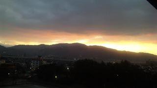 2011年初夕陽3