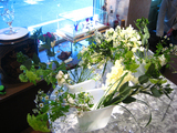 2009年1月 ホワイトブーケ花材