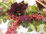 10月のアレンジメント 秋の花々