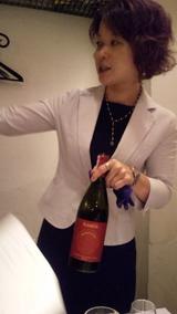亀田さん、とても丁寧なワインのお話しをありがとー♪