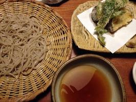 天ぷら&蕎麦