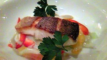 魚と野菜のバーニャカウダ
