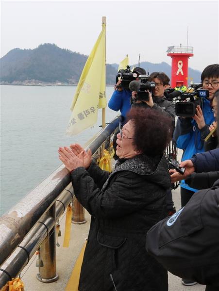 【韓国旅客船沈没】「会いたい。会いたいよ」 泣き崩れる行方不明者家族、なぜ3年もかかったのか…癒えない傷残し