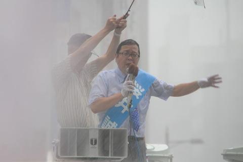 【都知事選】桜井誠氏「シナ人どもの凶悪犯罪を止める」「いい加減、日本人もシナ人と戦う覚悟を持て」 池袋で演説