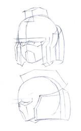 ガンダム顔トサカとマスク