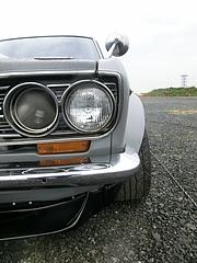 日産・ブルーバード(510)ヘッドライト