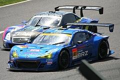 スバルBRZ R&Dスポーツ GT300鈴鹿 ホームストレート