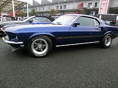 1969年式フォード・マスタング マッハ1左側面