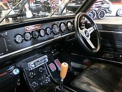 日産ブルーバード(510)車内
