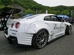 日産GT-R(R35)右後ろ