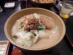 味噌屋 麺四朗 野菜らーめん(甘口)