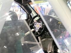 ハンコックポルシェ911GT3R(997)運転席