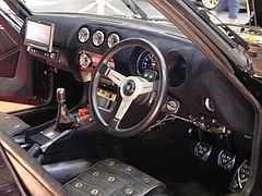 ロッキーオート フェアレディZ(S30)車内