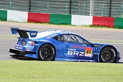 スバルBRZ R&Dスポーツ GT300 鈴鹿2コーナー