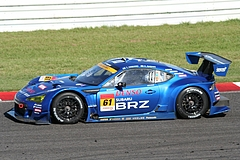 スバルBRZ R&Dスポーツ GT300 鈴鹿逆バンクコーナー