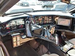ナイトライダー仕様トランザム運転席