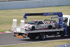 積車で運ばれるオリーヴスパ+コータレーシング(NA2)
