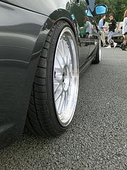 スバル・レガシィツーリングワゴン2.0GTスペックB(BP5)リアタイヤ
