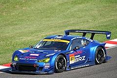 スバルBRZ R&Dスポーツ GT300鈴鹿逆バンクコーナー