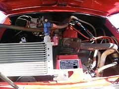 ジャンニーニ590GTコルサ エンジンルーム
