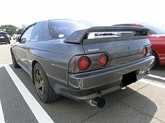 日産スカイラインGT-R(R32) 左後ろ