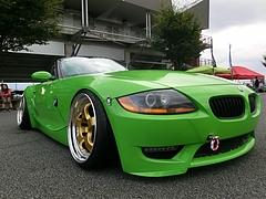 BMW・Z4右前