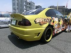 痛車BMW・M3(E46)右後ろ