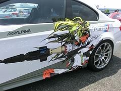 痛車BMW・M3(E92)左側面