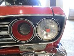 日産ブルーバード(510)ヘッドライト
