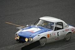 トヨタ・スポーツ800鈴鹿ホームストレート