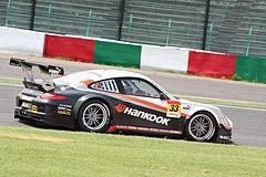 ハンコック ポルシェ911GT3R鈴鹿 2コーナー