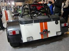 ケータハム スーパーライトR500リヤビュー