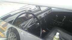 ボルボ123GT車内