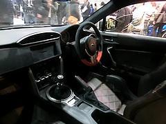 プローバ スバルBRZブラックエディション車内