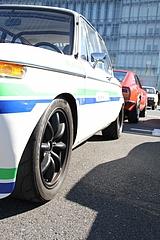 BMW2002tiフロントタイヤ