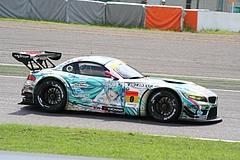 GSR初音ミクBMW・Z4GT3鈴鹿2コーナー