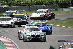 GSR初音ミクBMW・Z4GT3鈴鹿最終コーナー