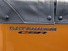 ケータハム スーパー7 2台目エンブレム