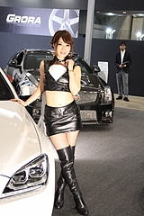 東京オートサロン2013コンパニオンのお姉さん