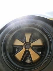ポルシェ911 フロントタイヤ