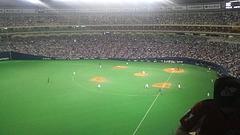 名古屋ドーム試合風景