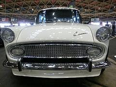 昭和39年式トヨタ・コロナ フロントマスク