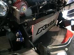 トラスト グレッディ35RXコンセプト前置きインタークーラー