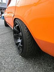 ダットサン・サニー(B210)リアタイヤ