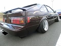 トヨタ・セリカXX右後ろ