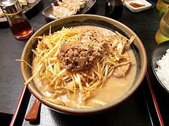 味噌屋 麺四朗 肉ねぎらーめん(濃い口)