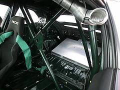 ホンダ・シビック タイプRユーロ(FN2)スーパー耐久仕様 車内